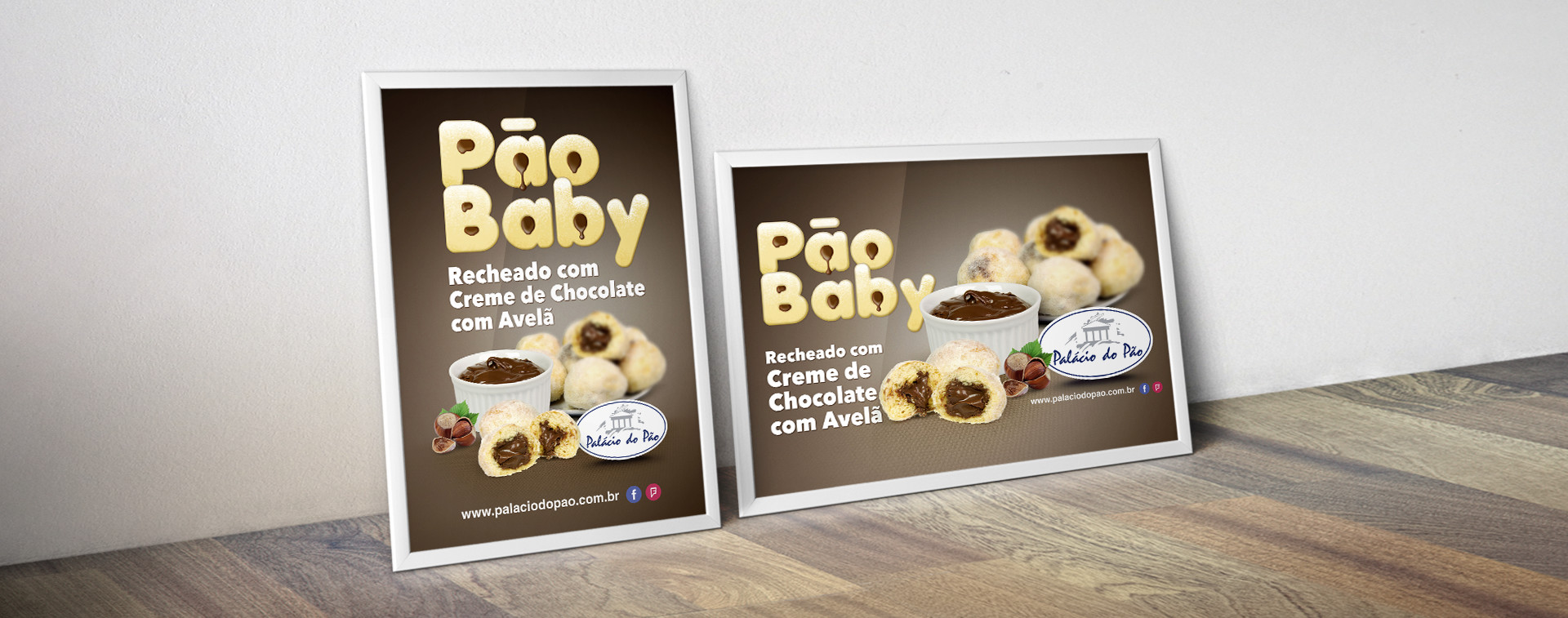 cartaz pão baby Padaria Palácio do Pão