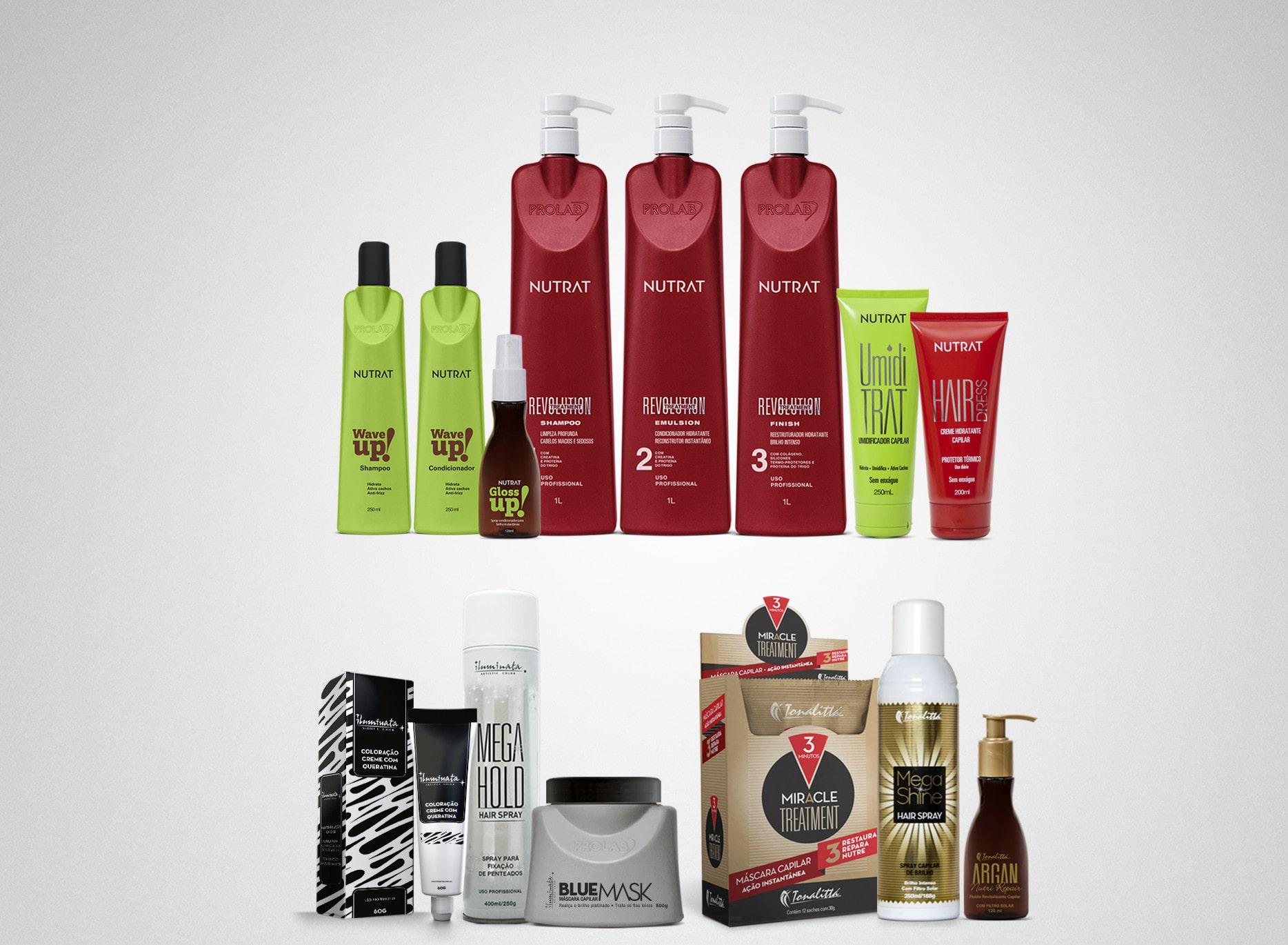 embalagem Prolab Cosmetics