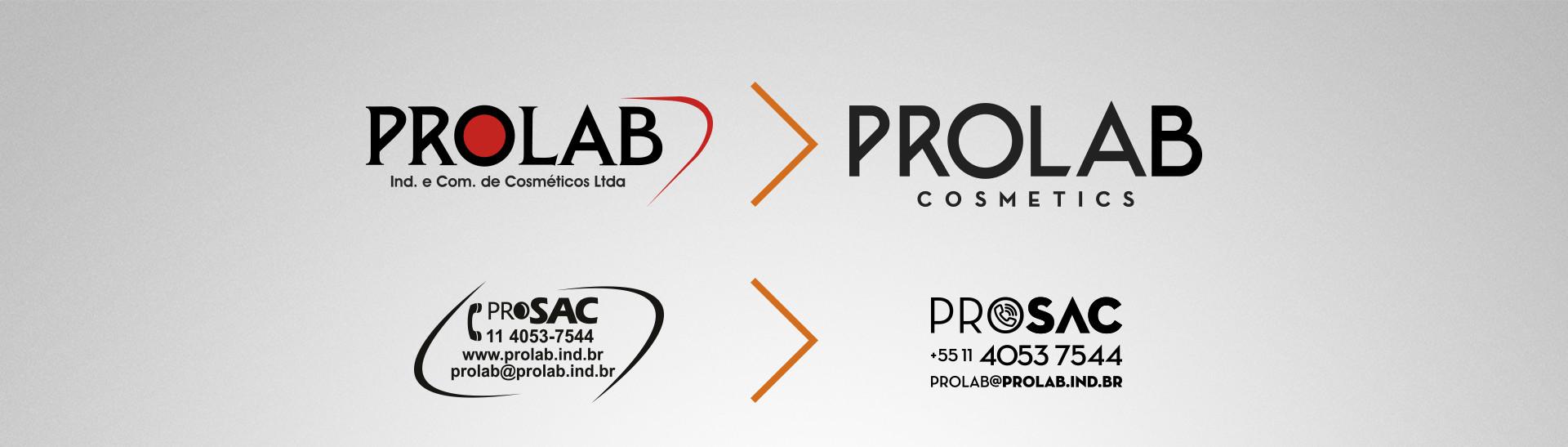 rebrand Prolab Cosmetics