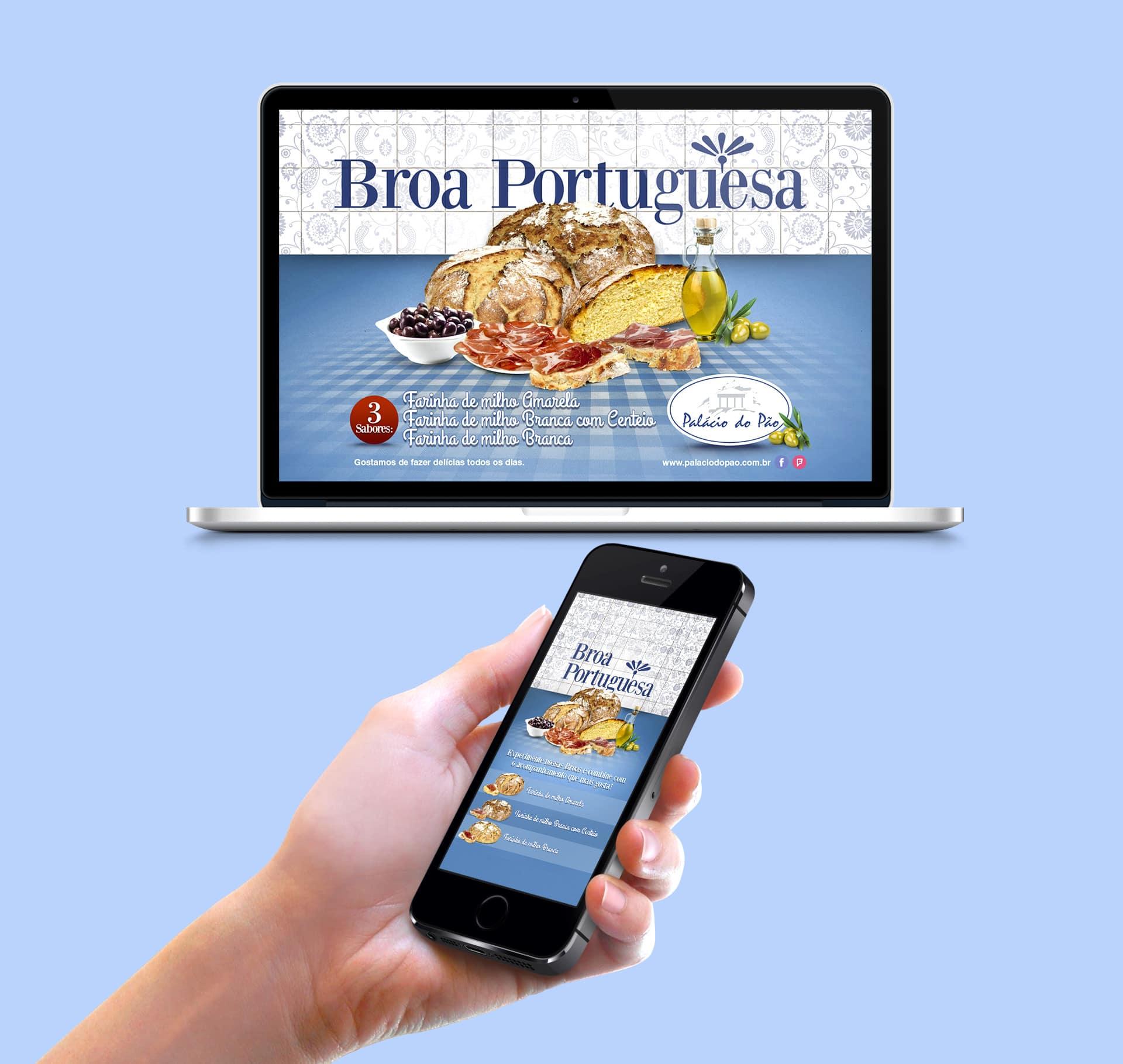 web broa portuguesa Padaria Palácio do Pão