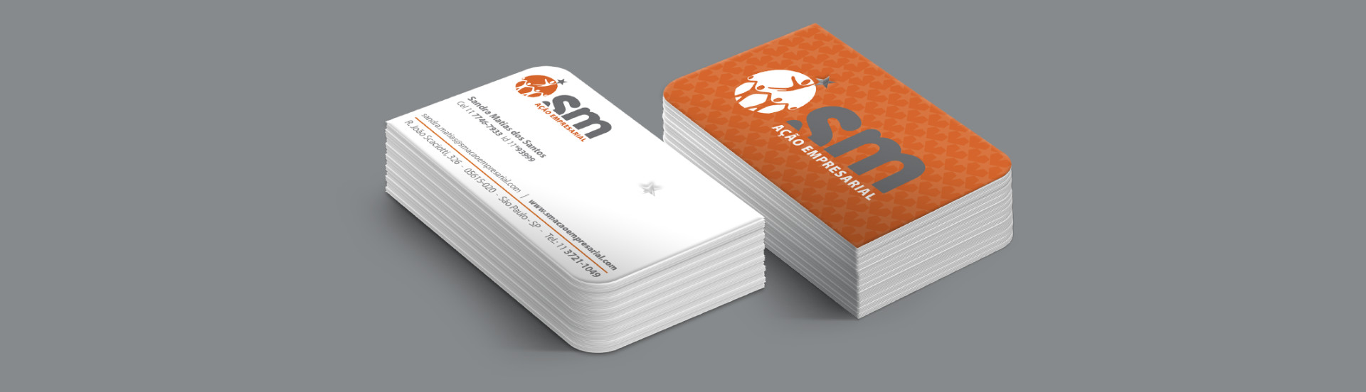 Cartão de Visita SM Ação Empresarial