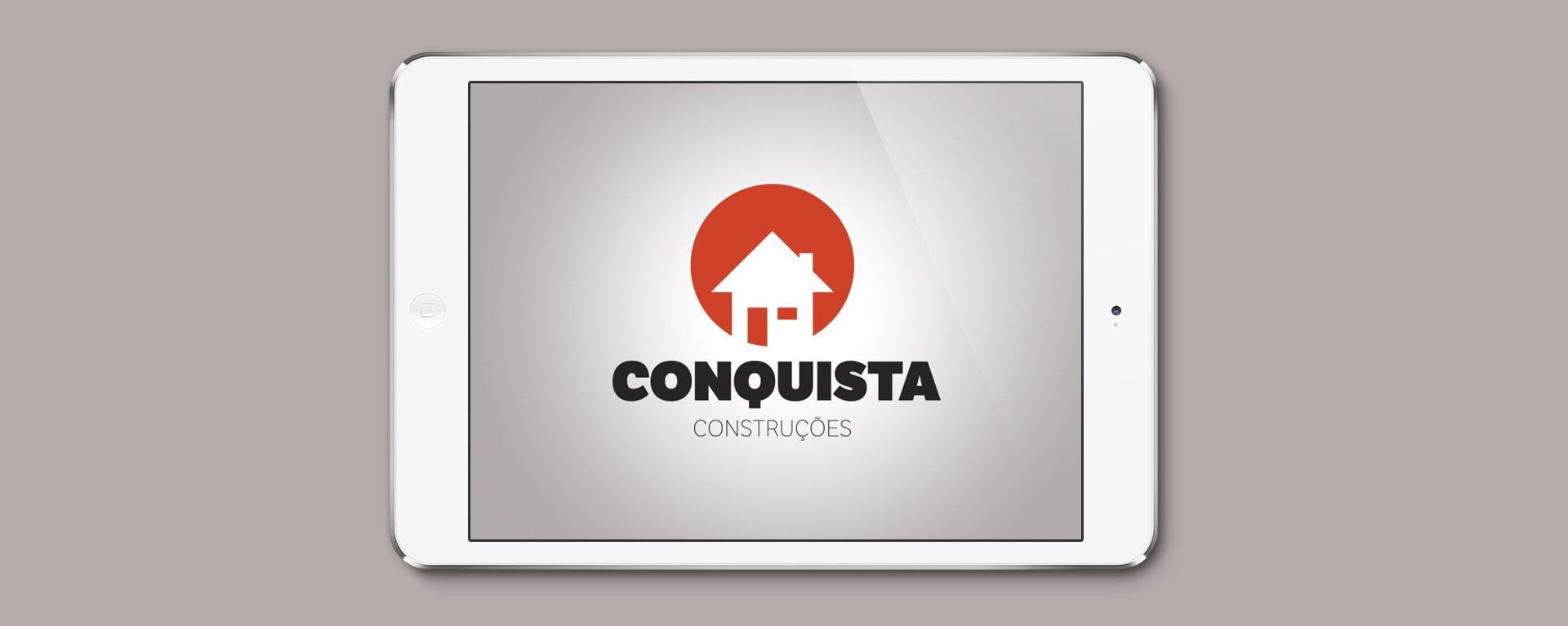 Logotipo Consquista Construções