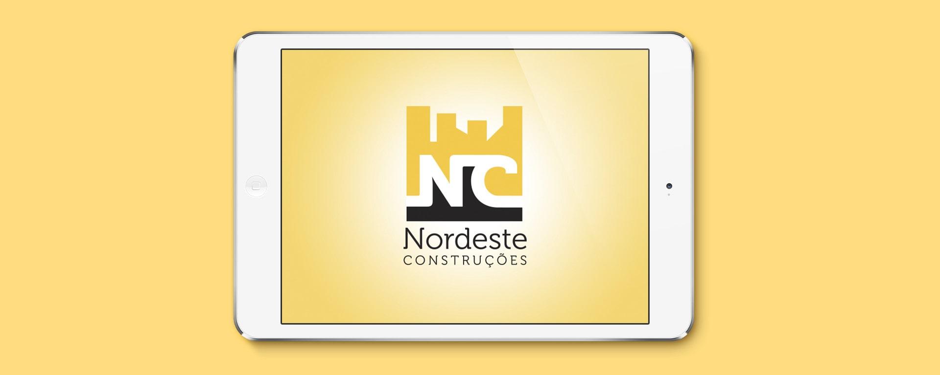 Logotipo Nordeste Construtora