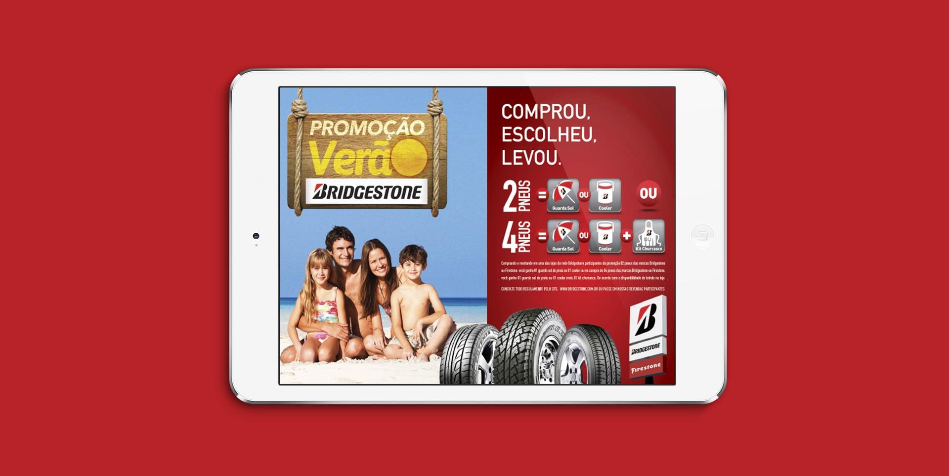 Campanha de Verão Bridgestone