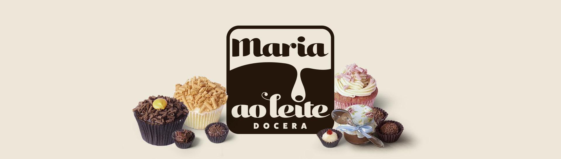 Logotipo Maria ao Leite