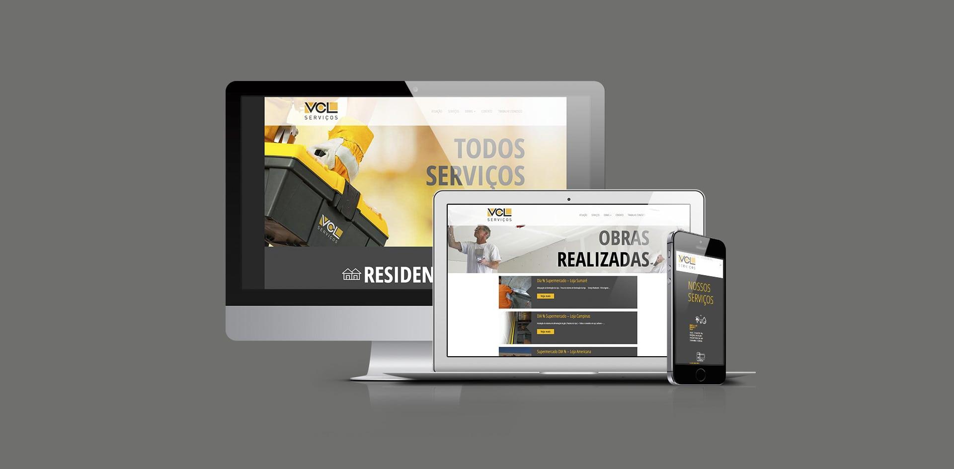 Web Site VCL Serviços